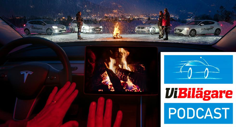 Vintertest, franska fördomar och laddstolpsrace