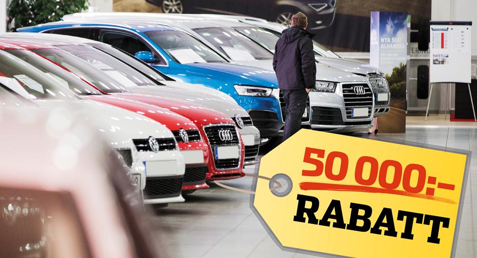 Spara tusenlappar på din nästa bil – här är rabatterna för alla märken