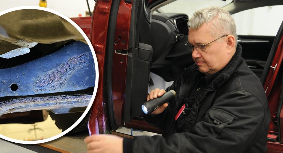 """Uselt rostskydd i vår Ford Mondeo: """"Rostigaste långtestbilen hittills"""""""