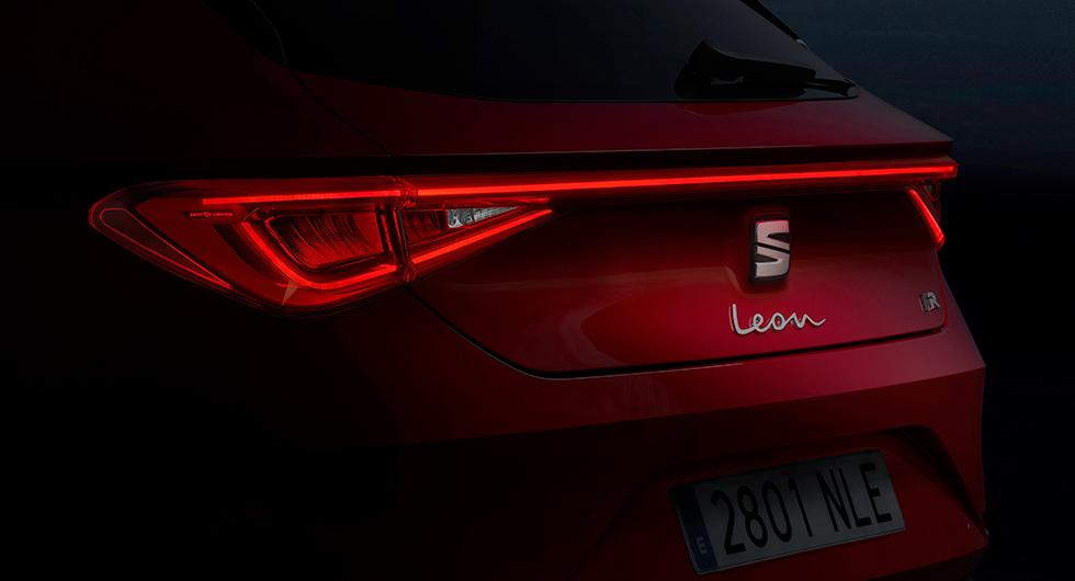 "Seat Leon får ""kust-till-kust""-bakljus"