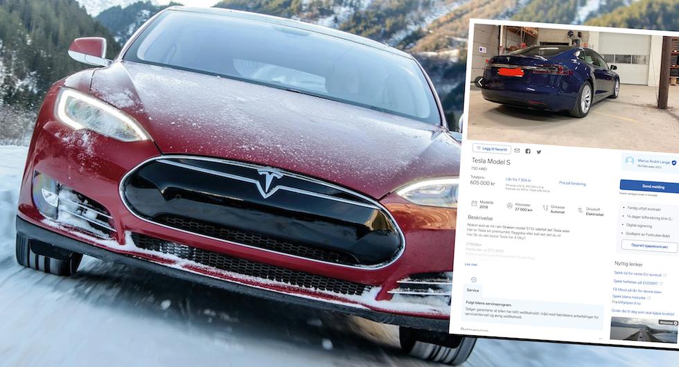 """Brutalt ärlig Tesla-annons gör succé: """"Klonkande ljud på köpet"""""""