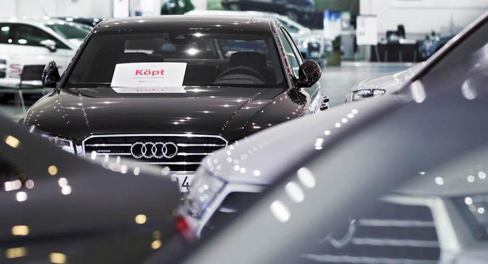 """Ny prisrusning på begagnade bilar: """"Köparna står på kö"""""""