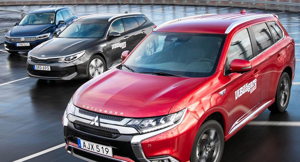 Förbrukning i elbil och laddhybrid: Siffror för 33 modeller