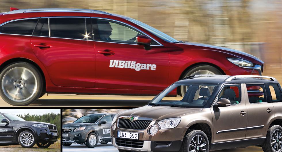 Ny lista avslöjar mest och minst driftsäkra bilarna