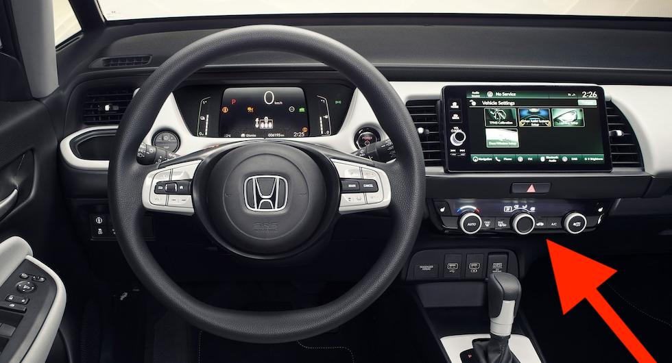 Hondas överraskande besked: Fysiska knappar på väg tillbaka?