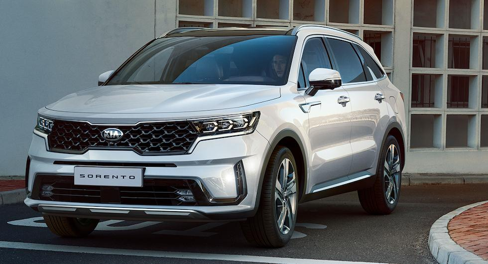 Officiell: Nya Kia Sorento kommer som diesel, hybrid och laddhybrid