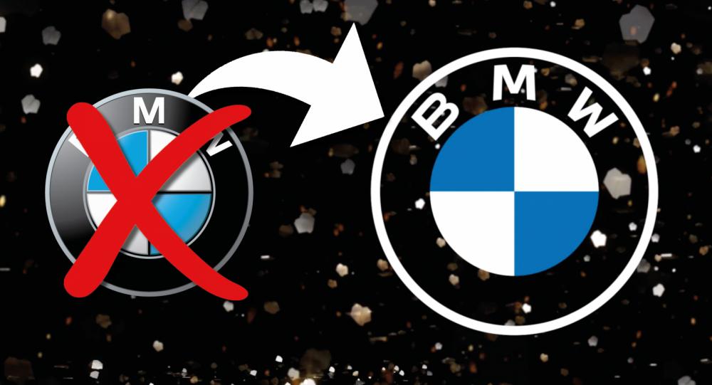 BMW:s nya logotyp väcker känslostorm
