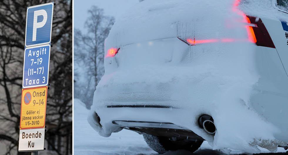 Datumparkering en miljöbov – tvingas kallstarta bilen varje dag