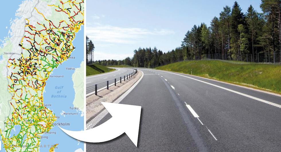 Ny rapport gör klart: Svenska vägar blir allt sämre