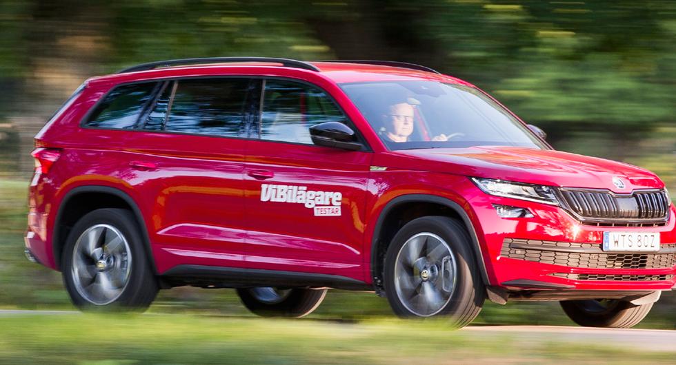 Törstigaste testbilarna 2019: Suvarna i skamvrån