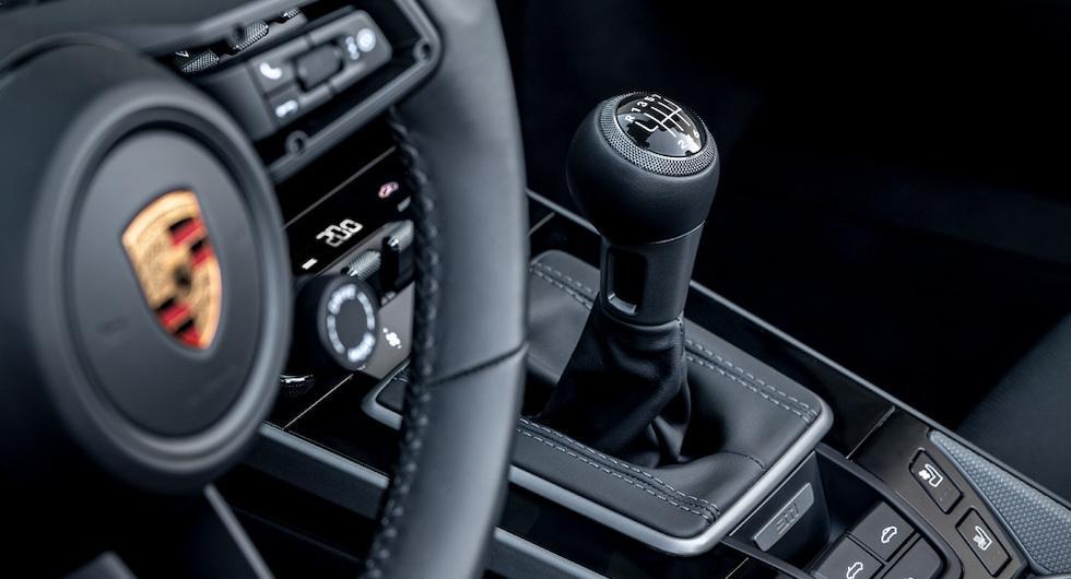 Ovanliga nyheten: Porsche 911 finns nu med manuell låda