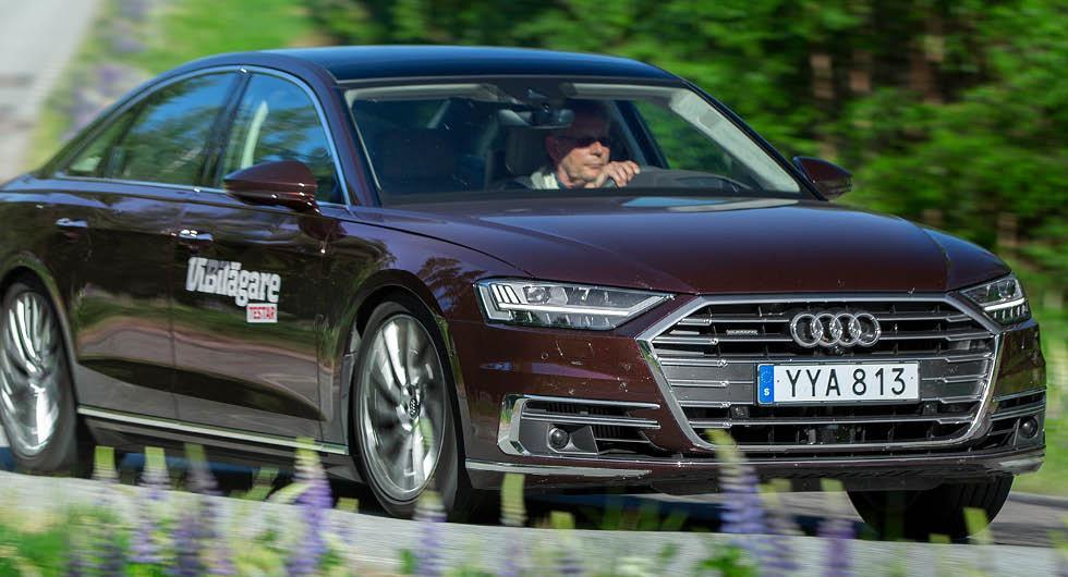 Audi ger upp planer på kökörningsassistent i A8