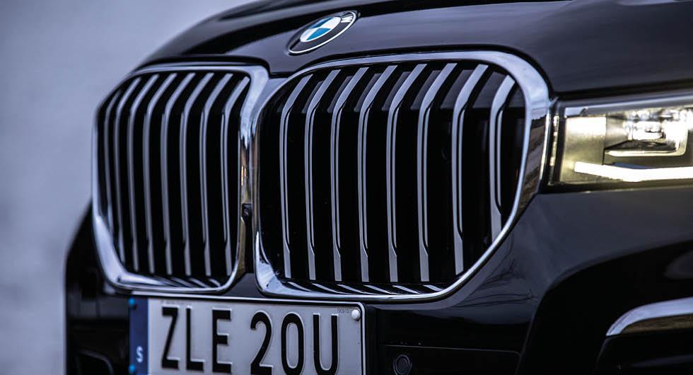 BMW gör klart: Jättegrillen blir kvar – även på elbilar