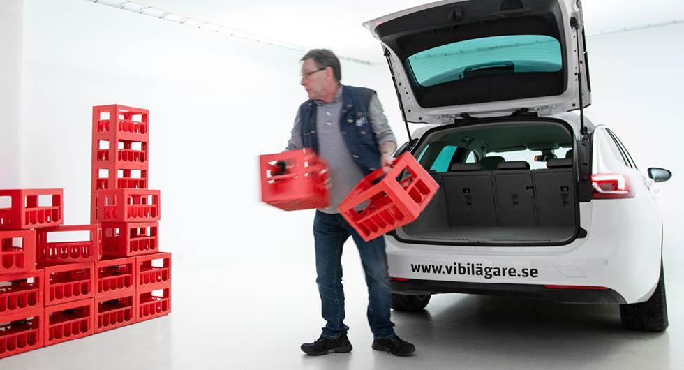 Bilarna med bäst utrymmen: Så många läskbackar sväljer bagaget