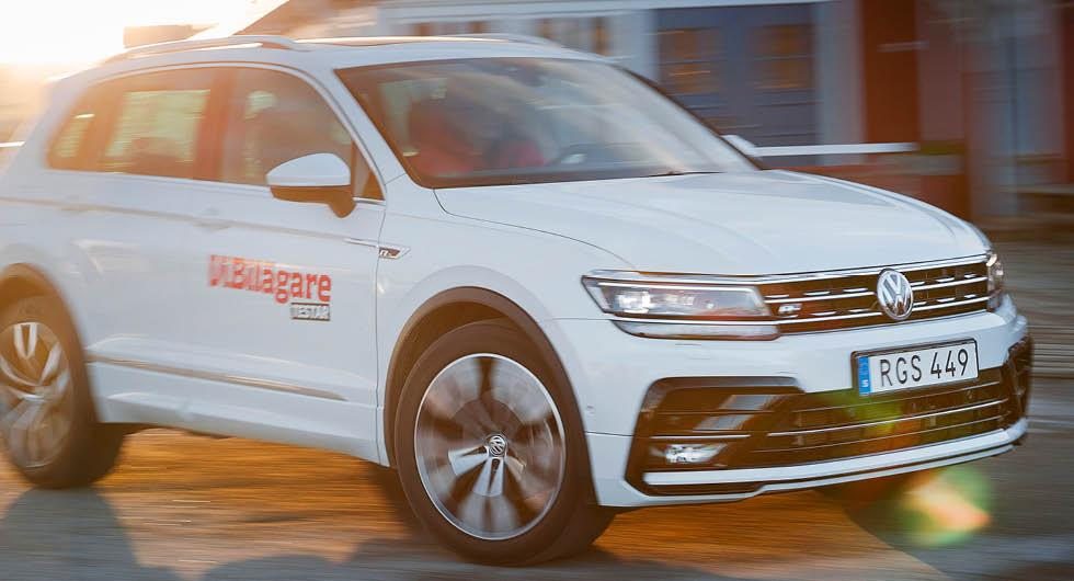 Volkswagen Tiguan kör om Golf som mest sålda modellen