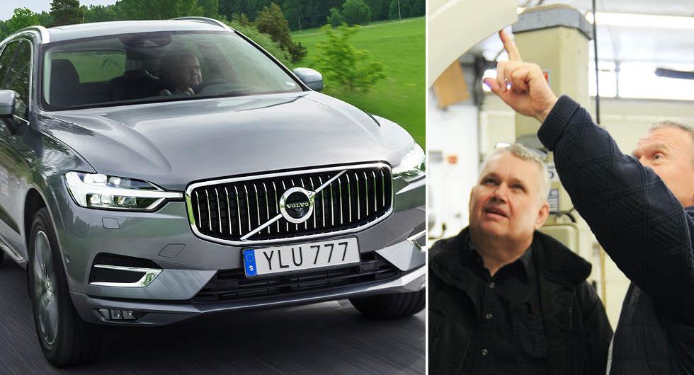 Allvarlig designmiss i Volvo XC60 –som ökar risken för rost