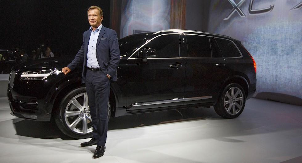 """Volvochefen: Nybilsrabatt kan vara """"slöseri med pengar"""""""