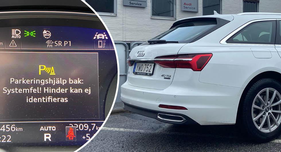 Audi A6 i långtest: Enda felfria bilen har börjat strula
