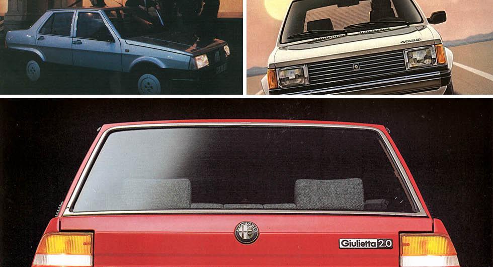 Bilarna ingen ville ha – ens när de var nya