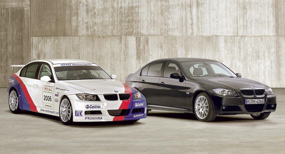 BMW 320Si lockade med högvarvig racemotor