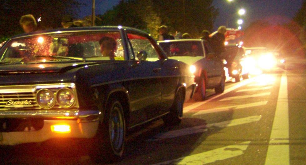 Trots coronakrisen: Flera stökiga bilträffar i helgen