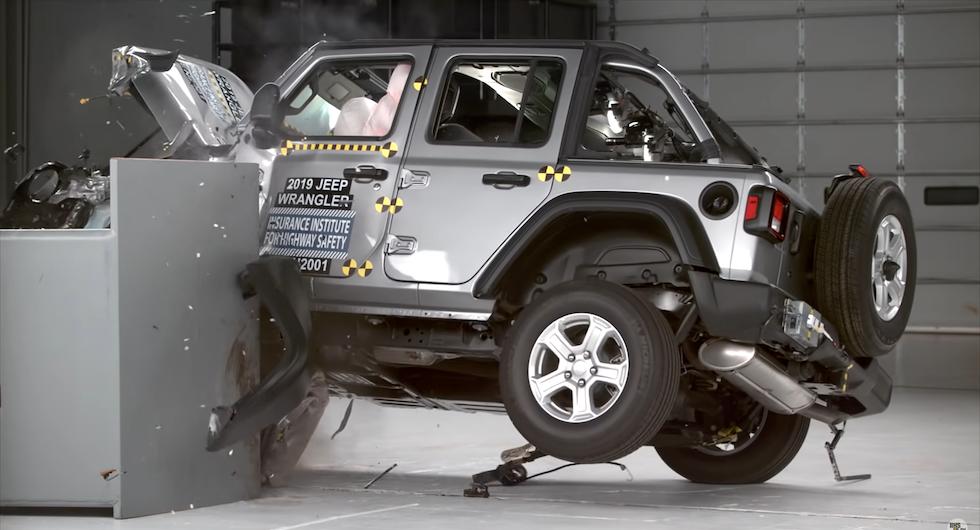 Efter krockfloppen: Jeep Wrangler ska uppdateras