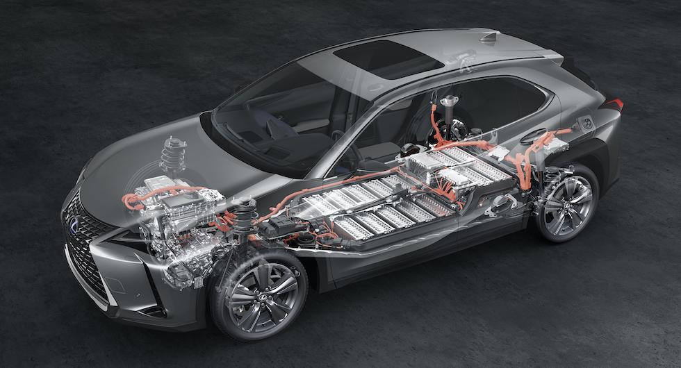 Lexus elbil har batterigaranti som gäller i 100 000 mil