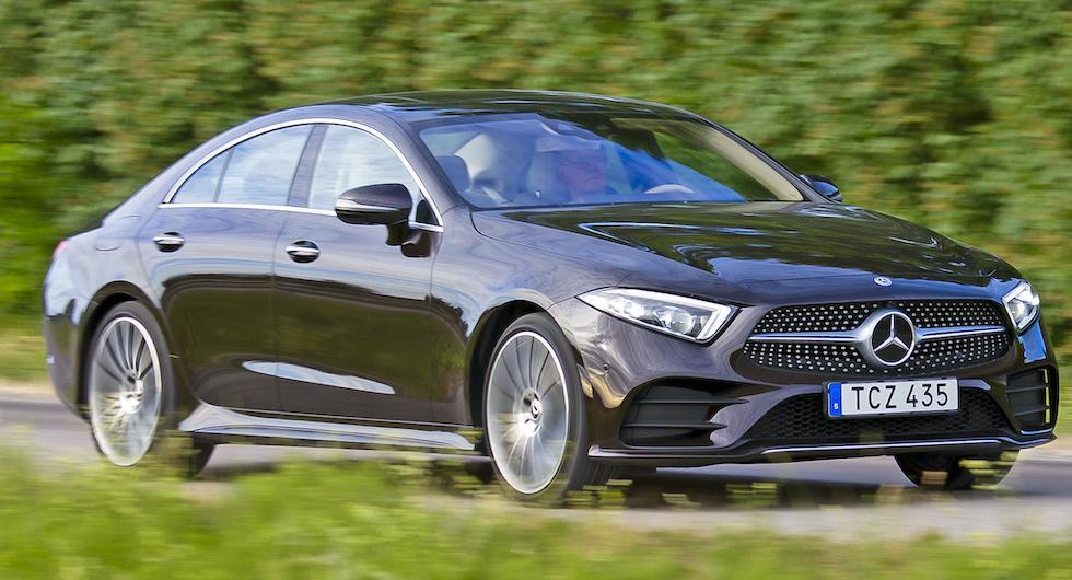Mercedes CLS kommer i snikversion med 1,5-litersmotor