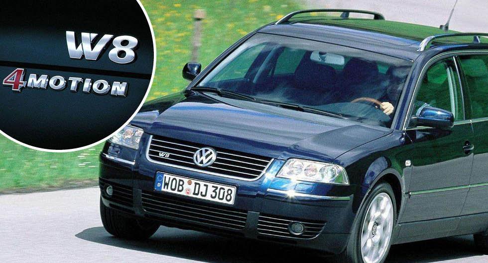 """Volkswagen Passat W8: """"Går som ett spjut och dricker som en svamp"""""""