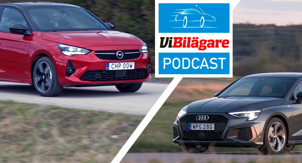 AutoIndex, Audi A3, Opel Corsa och dyrt batteribyte