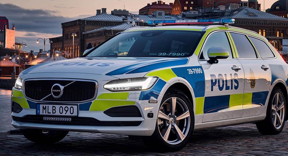 Volvo levererar 2 200 nya polisbilar – både XC60 och V90