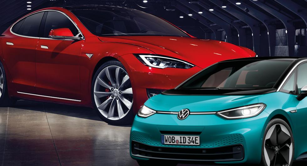 Ny rapport: Tesla mest innovativa – men VW flåsar i nacken