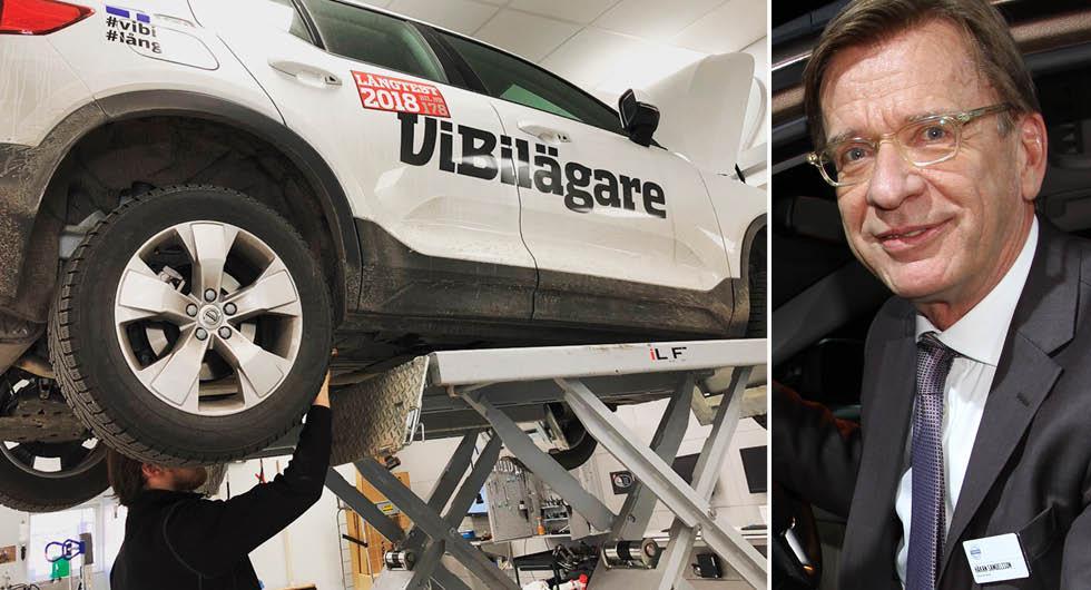 """Volvochefen till säljarna och verkstäderna: """"Vi behöver er!"""""""