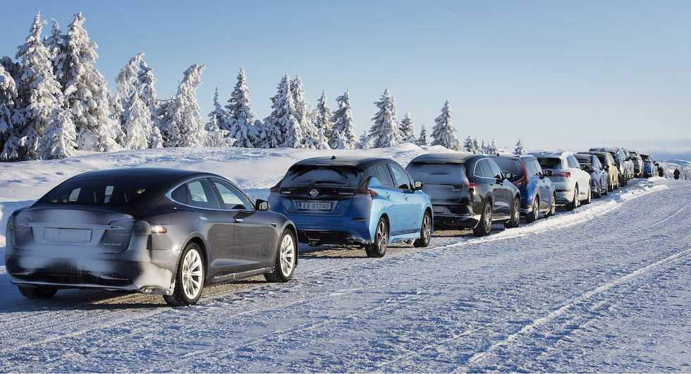 Ny studie kan ge bättre elbilsräckvidd på vintern
