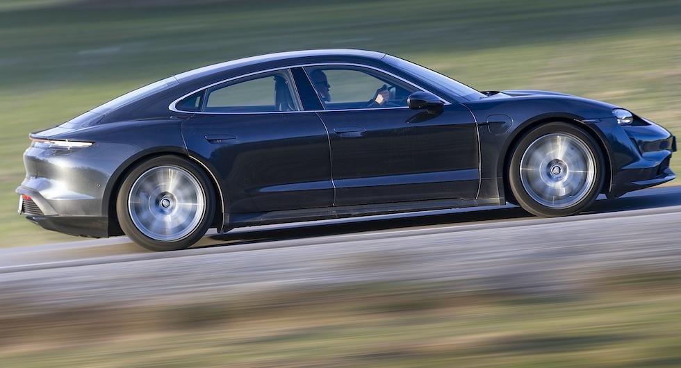 Provkörning: Porsche Taycan Turbo (2020)
