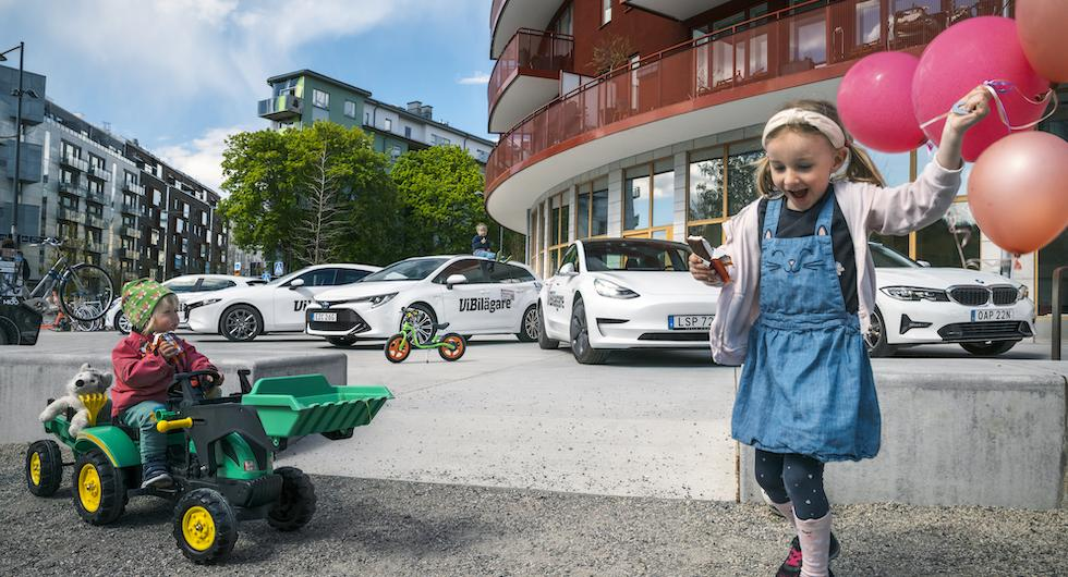 Årsmöte för tidningens yngsta testpatrull. Närvarande: Herman 6 år, Elsa och Vera 5 år, Edgar 3 år, Vina 2 år och Lou 2 månader.