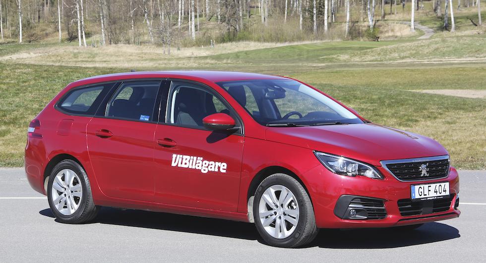 Peugeot 308, här i kombiutförandet SW, blev Årets Bil 2014. Vi granskar den som begagnad.