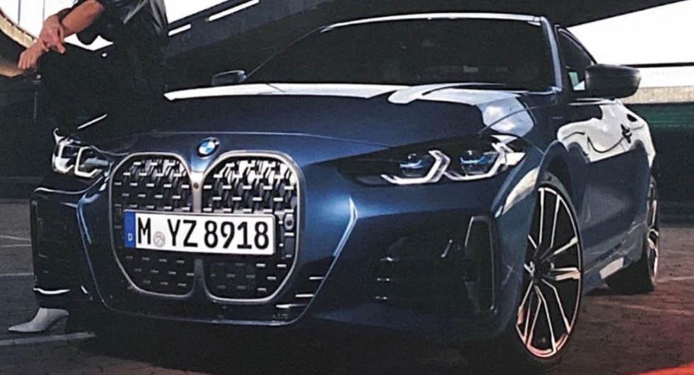 Nya BMW 4-serie avslöjad – med massiva grillen