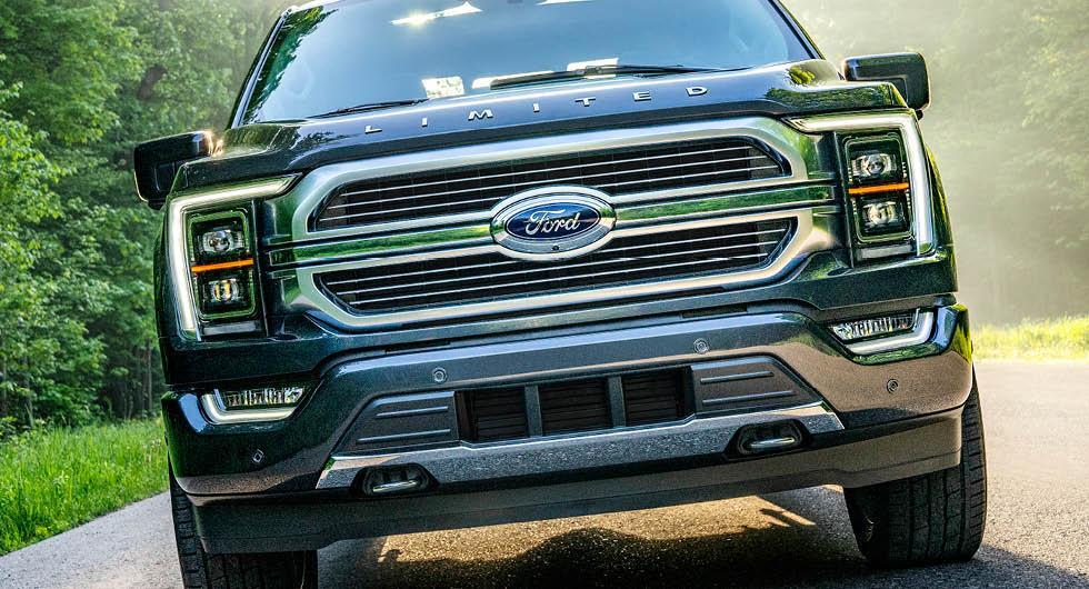Officiell: Ford F-150 har hybriddrift och utfällbart skrivbord