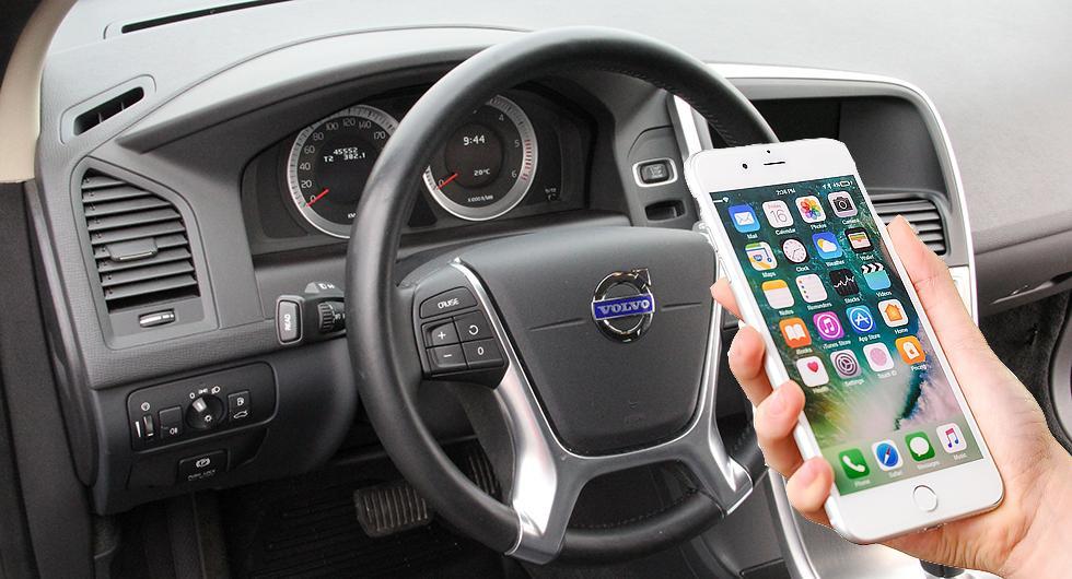 Bilfrågan: Svagt samtalsljud i telefonen