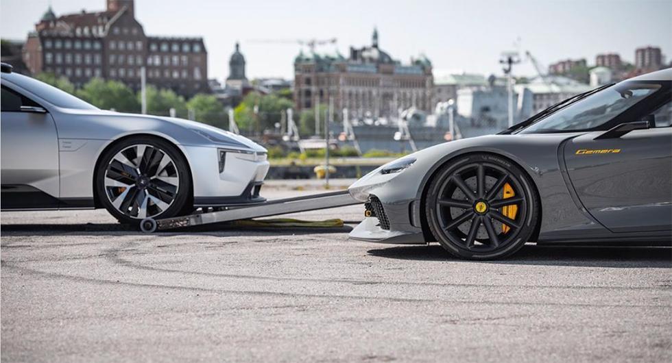 Polestar och Koenigsegg har något på gång