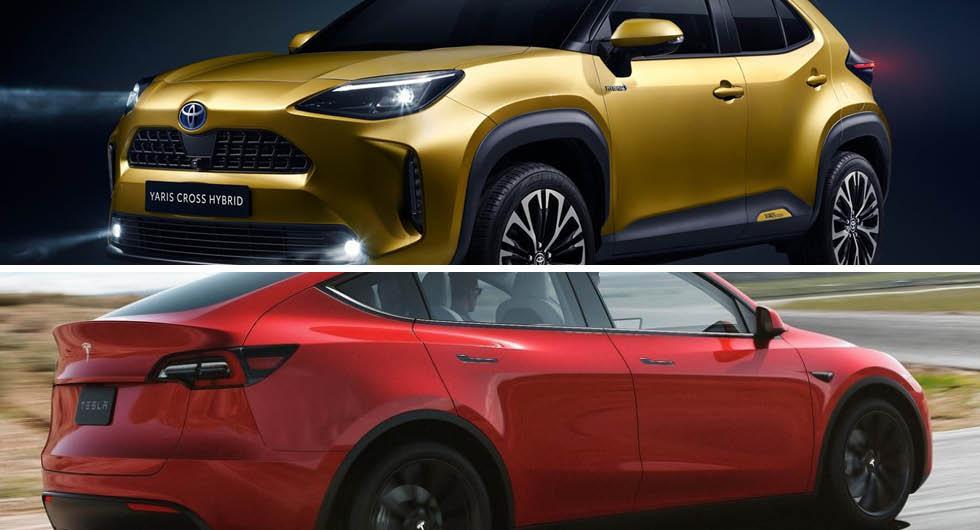 Mest värdefulla bilmärkena: Toyota i topp– Tesla ökar