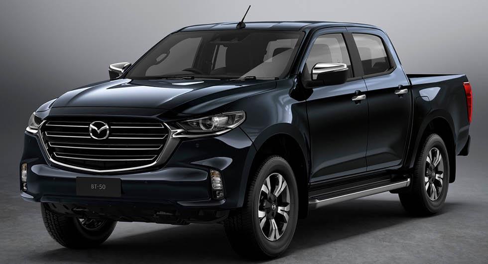 Mazda BT-50 officiell – ny pickup med dieselsexa