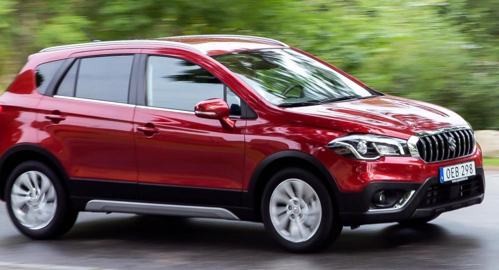 Suzuki S-Cross och Vitara kommer som gashybrider med fyrhjulsdrift