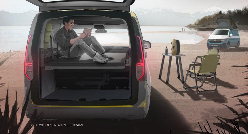 Mini-camper heter Volkswagens nya campingbil