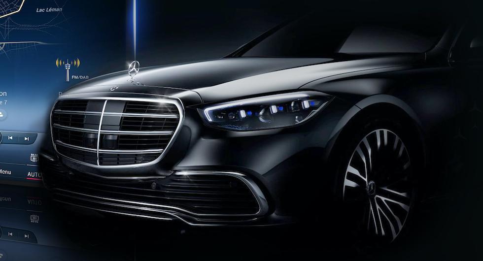 Mercedes S-klass smygvisad: Laddhybriden klarar tio mil på el