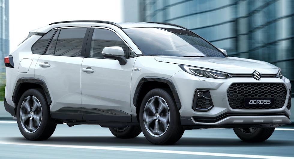 Suzuki Across är en laddhybridsuv med teknik från Toyota RAV4