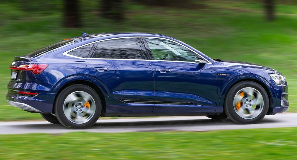 Provkörning: Audi e-tron Sportback (2020)