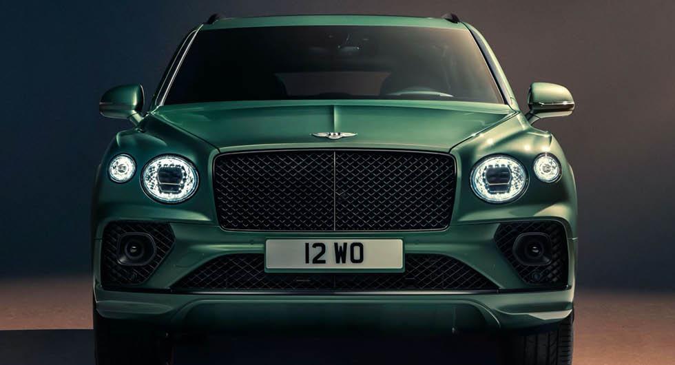 Bentley Bentayga uppdateras med ny design