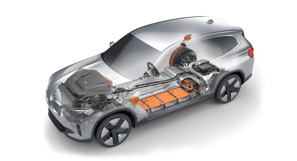 Premiär för BMW:s elbil iX3